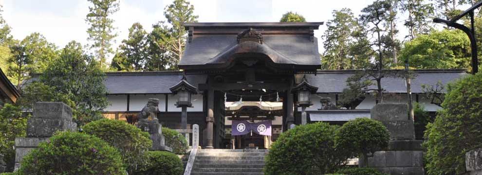 茨城の神社:静神社正面